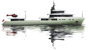 View large version of image: Anders Design and their 'new build' concept Geo 52 Superyacht