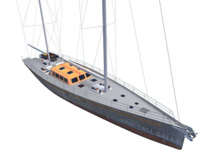 View large version of image: LONG TALL SALLY explorer sailing yacht announced for sale with De Valk Yacht Brokers