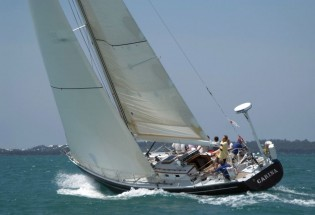 View large version of image: Newport Bermuda race fleet reaches 196...