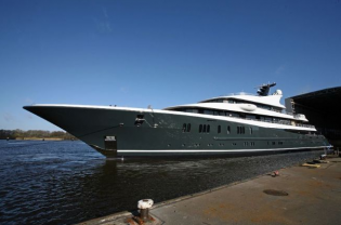 View large version of image: Another exciting launch: Superyacht Phoenix ²   by Lurssen Yachts