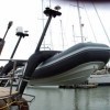 New Twin Carbon Raked Davits by Atlas Davits