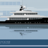Gian Paolo Nari's Concept - Unusual 35m Motor Yacht