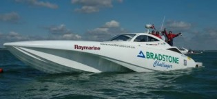 View large version of image: Yacht Bradstone Challenger: Luxury Powerboat or Iranian Weapon?