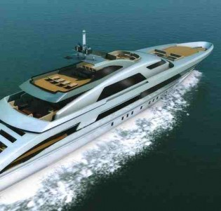 View large version of image: Heesen Yachts is thrilled to present its revolutionary 6500 FAST DISPLACEMENT HULL FORM.