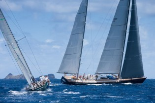 View large version of image: Voiles de Saint-Barth: The Start