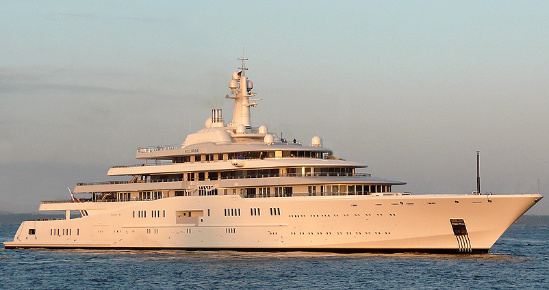 Yacht Eclipse To Norway For Sea Trails Before Delivery To Roman