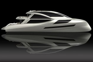 View large version of image: Heather Witkop's Luxurious Green Yacht Concept