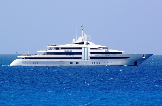View large version of image: Came across this magnificent picture of Superyacht VIBRANT CURIOSITY