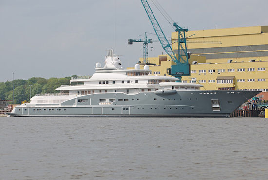 Lurssen's 110 m Motor Yacht Radiant to be in Norway for Sea
