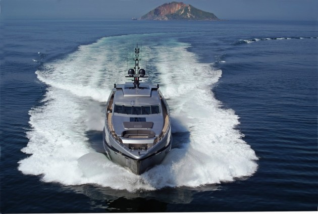 View large version of image: Yacht Noor a Bilgin 123 Motor Yacht