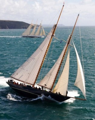 View large version of image: The  Falmouth - Falmouth Rum Race 2012