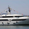 SuperYacht KATE launched  by CRN