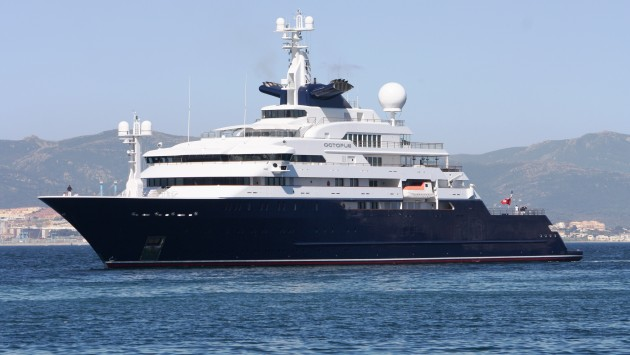 View large version of image: Superyacht Octopus