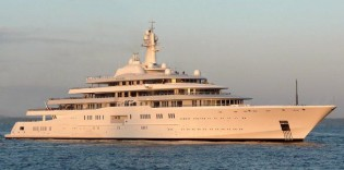 View large version of image: More Sea Trials for Super Yacht Eclipse