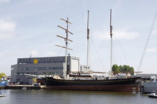View large version of image: Balk Shipyards Relaunches Superyacht Golden Lion