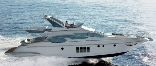 View large version of image: New flybridge line model - Azimut 64 -  released by Azimut