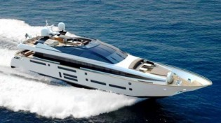 View large version of image: The new Canados 100 Superyacht