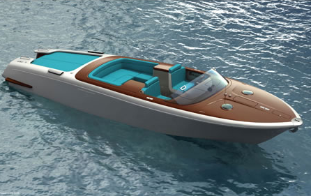 View Large Version Of Image Limited Edition Speedboat From Marc Newson For Riva