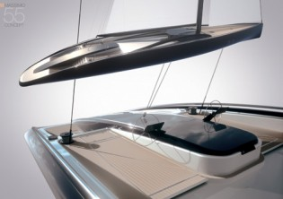 View large version of image: Innovative Sailing Yacht Concept Massimo iS
