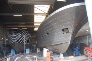 View large version of image: Two New Motor Yachts by Van Der Heijden