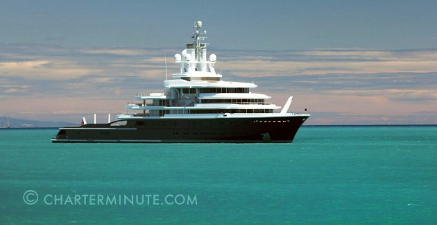 View large version of image: Superyacht LUNA Photo Antibes