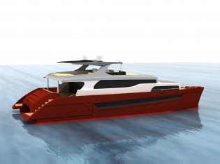 View large version of image: The KHARIMA 81' Motor Catamaran by Antonio Luxardo
