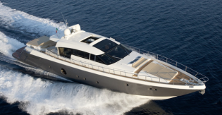 View large version of image: New Aicon 82 Open Yacht introduced by Aicon Yachts
