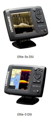 View large version of image: LOWRANCE ANNOUNCES NEW ELITE DOWNSCAN IMAGING™ SONAR SERIES