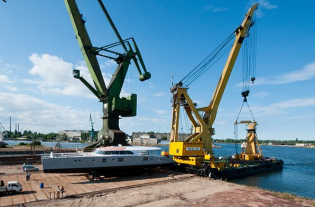 View large version of image: Catamaran Che Launched by Sunreef