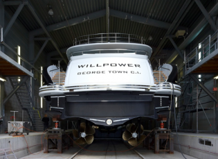 View large version of image: Motor Yacht Willpower Delivered to her owner