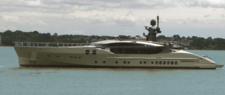 View large version of image: Mega Sport Yacht PJ-501 launched by Palmer Johnson