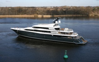View large version of image: Phoenix 2 superyacht successfully delivered to her Owner