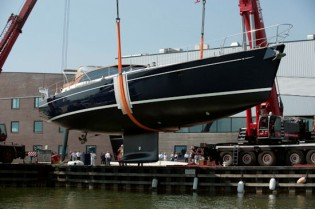 View large version of image: Uisge Beatha Yacht launched by Jongert  Shipyard