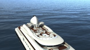 View large version of image: SELEX Communications Yacht Technologies launches new antenna technology for superyachts