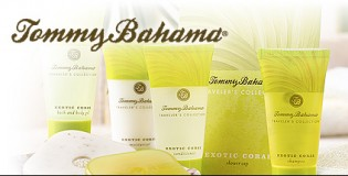 View large version of image: New Tommy Bahama Luxury Guest toiletries