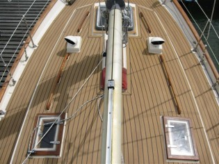 View large version of image: PVC Teak Decking - the way forward