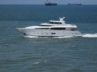 View large version of image: Kha Shing Launches the Monte Fino 100 RPH Yacht