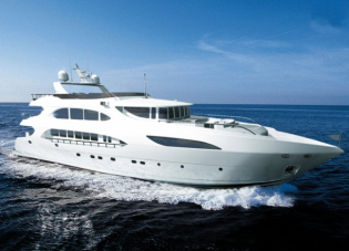 View large version of image: Superyacht Primadonna launched from IAG shipyard