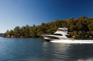 View large version of image: Riviera Yachts at the Fort Lauderdale International Boat Show