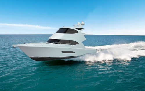 View large version of image: Riviera introduces the 53 Enclosed Flybridge ...