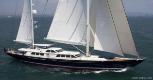 View large version of image: Sailing Yacht Nazenin V to exhibit at the Monaco Yacht Show 2010