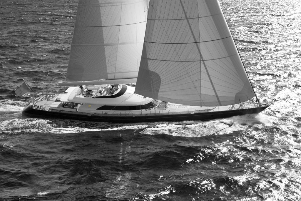 View large version of image: Perini Navi 45 metre Sailing Yacht New Build ...