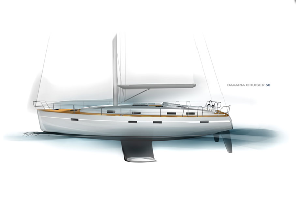 View large version of image: Bavaria introduces Bavaria Cruiser 50 sailing ...