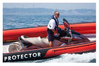 View large version of image: Protector releases their new  Jet 20' boat