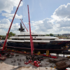 Y706 superyacht launched by Oceanco