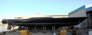 View large version of image: Perini Navi Yacht Melek delivered to her Onwer