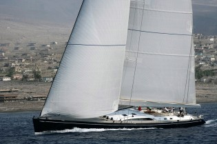 View large version of image: Virago, the Swan 100S, to Participate in the 2010 Newport Bucket Regatta