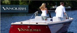View large version of image: Vanquish Boats at the 2010 Newport International Boat Show