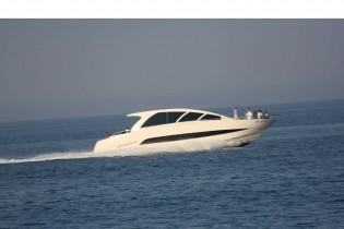 View large version of image: Wake 66 yacht by Wayachts present at the 2010 Genoa Boat Show