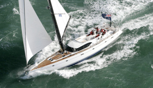 View large version of image: Eddie Jordan to join the Oyster Fleet as his family trust buys the Oyster 655 Yacht